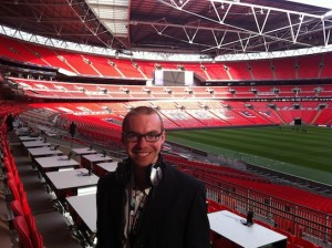 Unusual home working jobs - Adam Bates, sports commentator