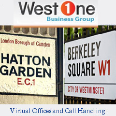 Ad for West One - Virtual offices and call handling