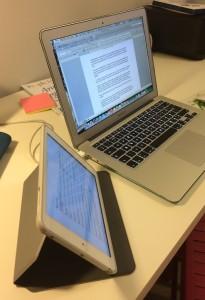 Targus EverVu case for iPad Mini - side