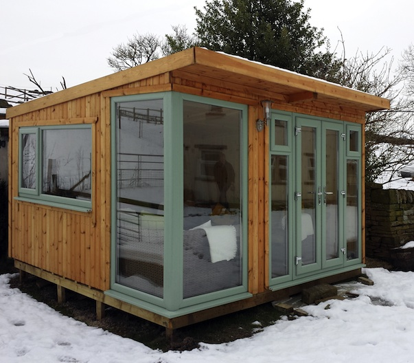 A Garden Office With A View! -Work From Home Wisdom