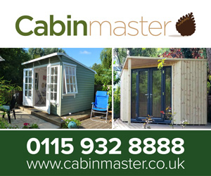 Cabin Master garden offices ad