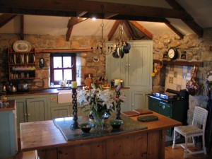 Ednovean Farm - Christine's kitchen, Kitchen home offices