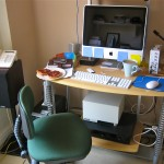 My home office - Andy Britnell, See a Man About a Blog