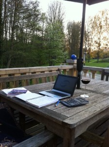 outdoor and mobile home offices - Judy Mansfield
