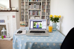 Living room home offices - Rosie Bray