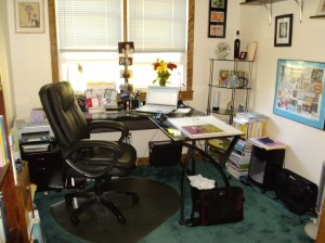 My home office - Sandy Dempsey