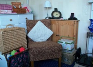 Living room home offices - Sarah @loves2crochetuk