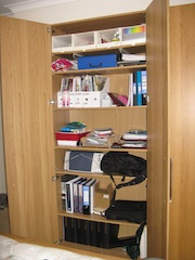 Home office cupboard - Catherine Raynor