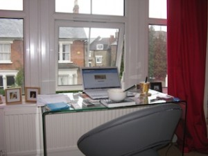 Home working office - Catherine Raynor