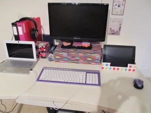 My home office - Abi Saffer