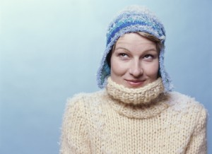 Work from Home Wisdom - how to keep warm