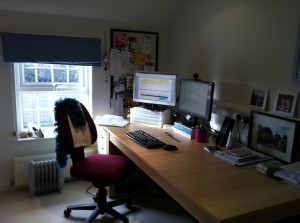 My home office - Karen White, White Ink Ltd