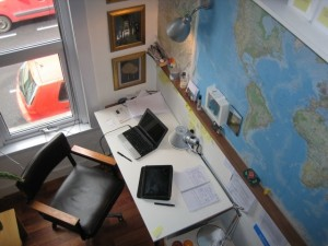 Work from Home Wisdom home offices - Matthew Turner, architect