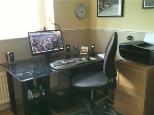 My home office - Sheena Russell, Executive PA