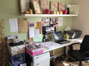 My home office - Claire Dowdall