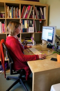 My home office - Liz Proctor, charity fundraising consultant
