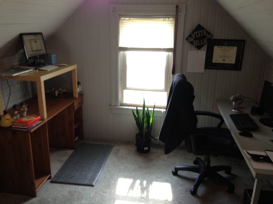 attic home office. Attic Home Offices - Anthony Chatfield, Great Leap Studios. \u0027 Office