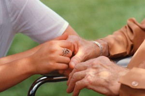 Different levels of care for elderly relatives