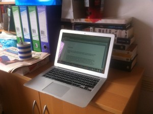 Work from Home Wisdom - How to work from home in a small space, Santhie Goundar