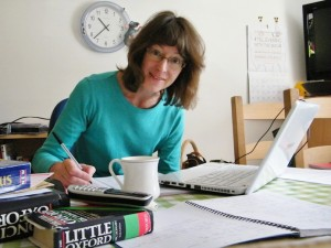 Through the home office keyhole - freelance copywriter Sophia Moseley