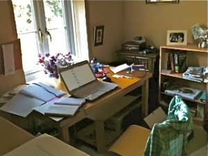 Moving home office - Sophia Moseley