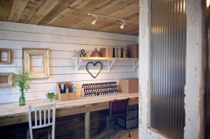 Garden offices - Mangle & Wringer workshop