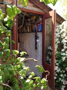 Garden offices gallery - Claire Yeomans, Author Ink Ltd