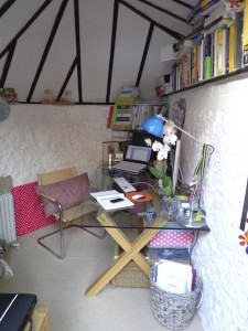 Garden offices gallery -  interior, Claire Yeomans, Author Ink Ltd