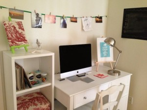 Bedroom home offices - Brandi-Ann Uyemura