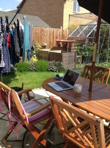 Outdoor home offices - Liz Proctor