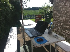 Outdoor home offices - Sheena Russell, Executive PA