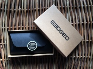 Gadgeo phone cases - packaging