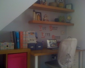 Under stairs home offices - Anastasia Pappa, Ostrakinda Education