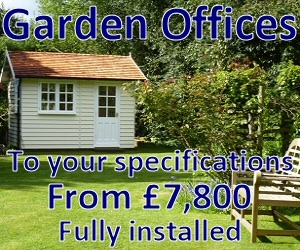 Homestead garden offices ad