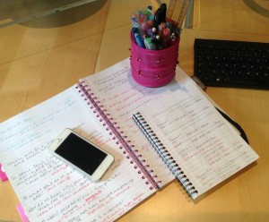 5 things I can't work without - desk - Karen White, White Ink