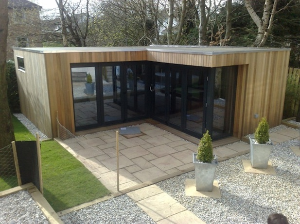 Garden office spotlight the latest outdoor buildings for Garden office design