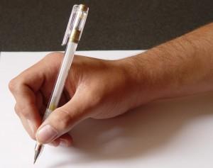 Write a will - filling it in