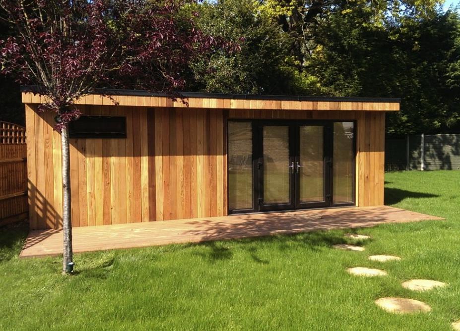 May garden office spotlight work from home wisdom for Modern garden office