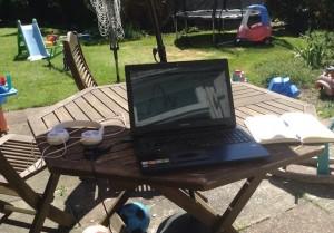 Chris Chillingworth - spread betting - garden