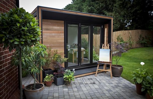 Smart garden office Cabin Garden Office Spotlight Aug 2015 Smart Garden Offices Ultra Solo Work From Home Wisdom Garden Office Spotlight August 2015