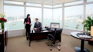 Serviced office in Hong Kong